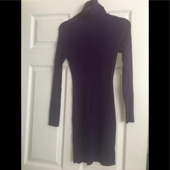 Nikibiki Dresses & Skirts - Purple turtleneck dress